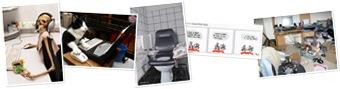 Afficher Les accros du PC (photos prises sur Internet)
